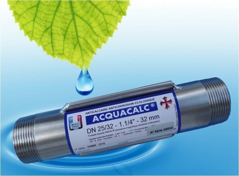 supprimer calcaire eau tuyauterie